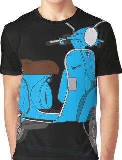 Vespa PX 150 Blue Graphic T-Shirt