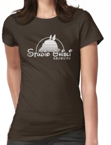 Studio ghibli Totoro Womens Fitted T-Shirt