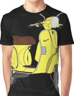Vespa PX 150 Yellow Graphic T-Shirt