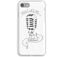 Don't Let Me Drown - Bring Me The Horizon iPhone Case/Skin