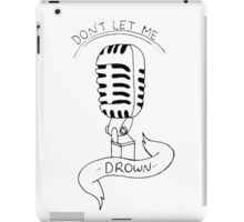 Don't Let Me Drown - Bring Me The Horizon iPad Case/Skin