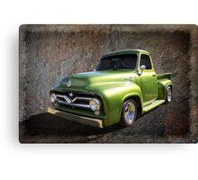 Fifties Pickup Canvas Print