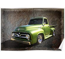 Fifties Pickup Poster