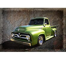 Fifties Pickup Photographic Print