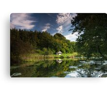 The Fishing Hut Canvas Print