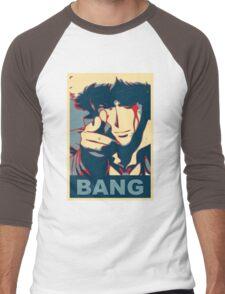 Cowboy Bebop - Bang - Spike Spiegel Men's Baseball ¾ T-Shirt