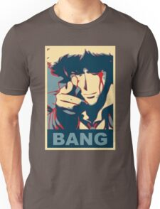 Cowboy Bebop - Bang - Spike Spiegel Unisex T-Shirt
