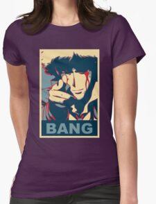 Cowboy Bebop - Bang - Spike Spiegel Womens Fitted T-Shirt