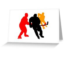Hockey moments and players Greeting Card