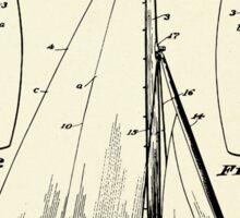 Sail Boat-1927 Sticker