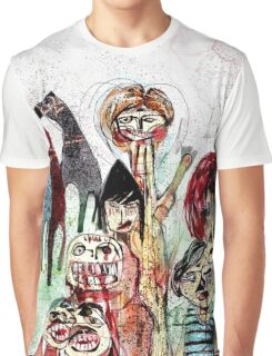 The Horses Graphic T-Shirt