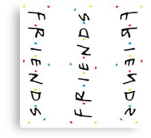 Friends patterns Canvas Print