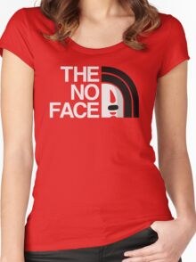 The No Face Women's Fitted Scoop T-Shirt