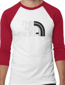 The No Face Men's Baseball ¾ T-Shirt