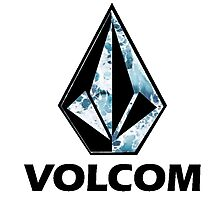 VOLCOM logo Photographic Print