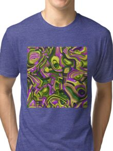 Shiny Art Deco Tri-blend T-Shirt