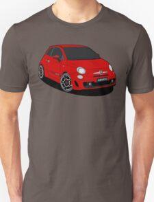 500 abarth red Unisex T-Shirt