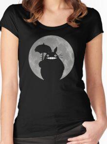 My Neighbor Totoro Women's Fitted Scoop T-Shirt