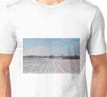 Snowy Field Unisex T-Shirt