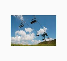 Ski Lift on Monte Zoncolan in Summer Unisex T-Shirt