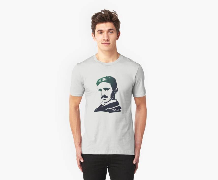 nikola tesla by vectoria