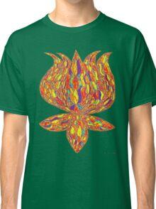 trippy lotus Classic T-Shirt