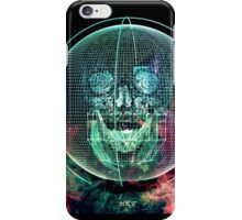 Wire Skull 02 iPhone Case/Skin