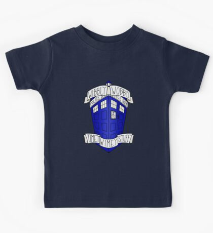 Doctor Who - TARDIS Kids Tee
