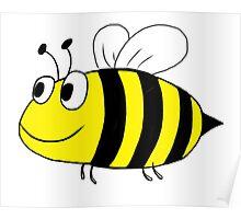 Bee Happy Poster