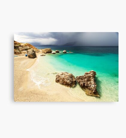 Fight of Shadow and Light - Travel Photography Canvas Print