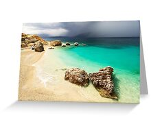 Fight of Shadow and Light - Travel Photography Greeting Card