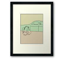Chrysler Embrace Framed Print
