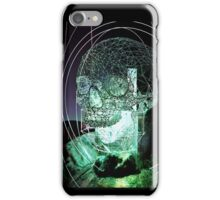 Wire Skull 01 iPhone Case/Skin