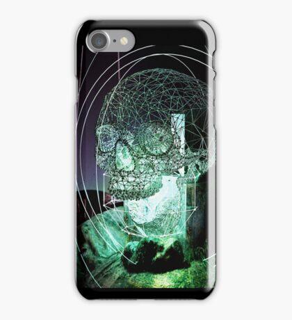 Wire Skull 01 iPhone Case/Skin
