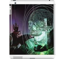 Wire Skull 01 iPad Case/Skin