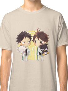 Chibi 2 Haikyuu!! Anime Classic T-Shirt