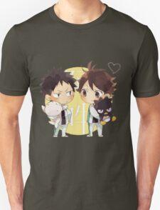 Chibi 2 Haikyuu!! Anime Unisex T-Shirt
