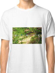 Plastic Pegs on Line Classic T-Shirt
