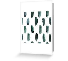 Watercolor dot stains Greeting Card