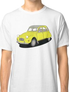 2cv yellow Classic T-Shirt