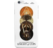 Knight Of Cups Poster iPhone Case/Skin
