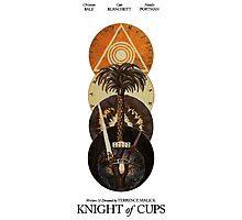 Knight Of Cups Poster Photographic Print