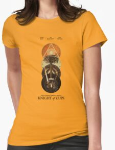 Knight Of Cups Poster Womens Fitted T-Shirt