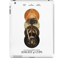 Knight Of Cups Poster iPad Case/Skin
