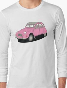 2cv pink Long Sleeve T-Shirt