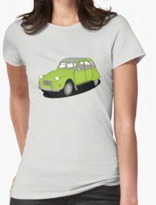 2cv green Womens Fitted T-Shirt