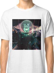 Wire Skull- Full Landscape Classic T-Shirt
