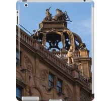 Rooftop Chariots and Horses - The Hippodrome Casino Leicester Square, London, UK iPad Case/Skin