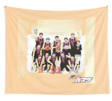 Kuroko's Basketball | Kuroko no Basket DUVET COVER 1/4 BEDROOM SET: Seirin High Wall Tapestry