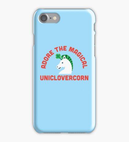 Adore the Magical Uniclovercorn iPhone Case/Skin